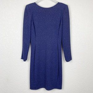 ⭐️5/$25 Vintage Caché Glittery Longsleeved Dress 6